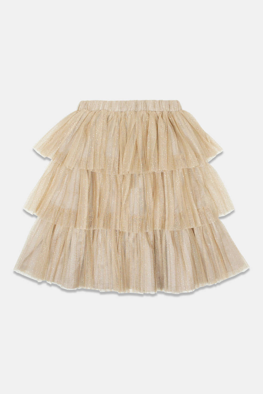 Christina Rohde Gold Tulle Skirt