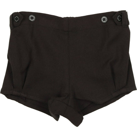 Coco Blanc Black Wool Short