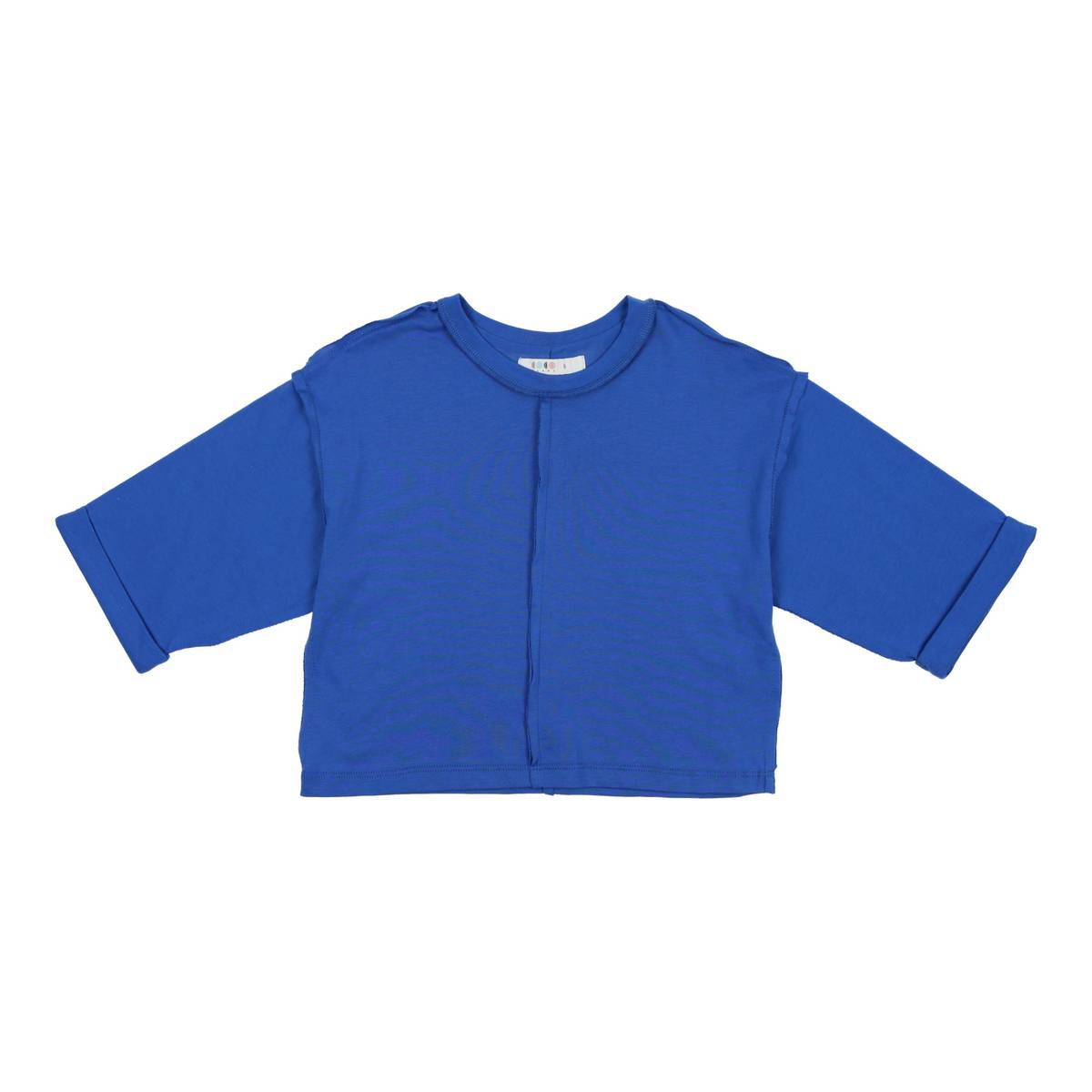 Coco Blanc Cobalt Blue 34 Cotton T-Shirt