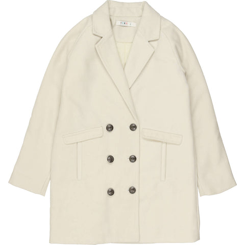 Coco Blanc Cream Wool Coat