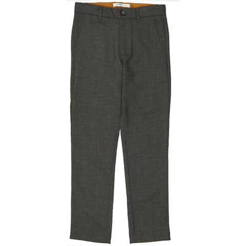 Coco Blanc Grey Heathered Wool Pants