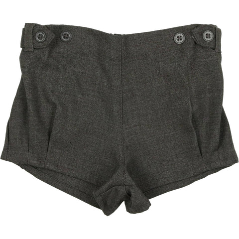 Coco Blanc Grey Wool Short