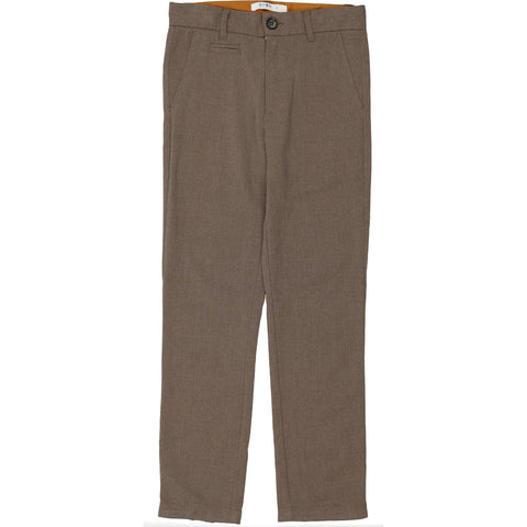 Coco Blanc Toffee Heathered Wool Pants