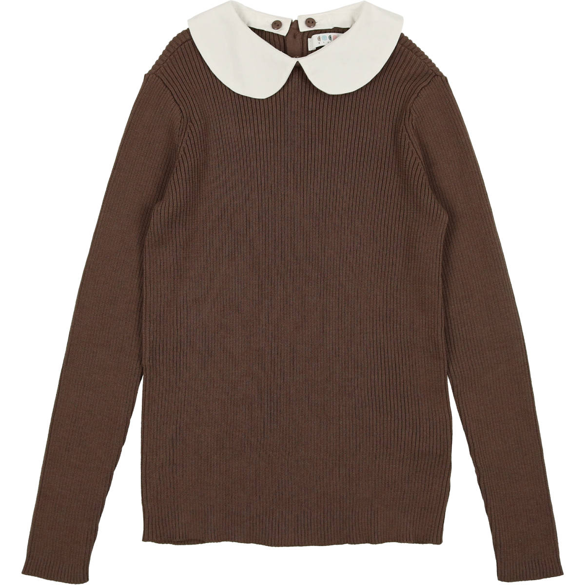 Coco Blanc Toffee Peter Pan Sweater