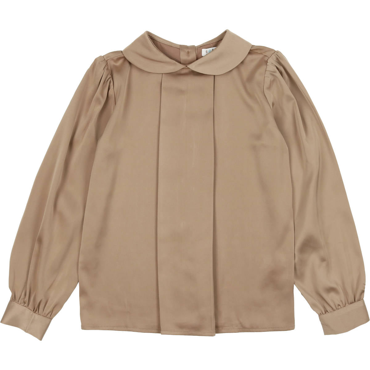 Coco Blanc Toffee Silky Blouse