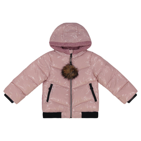 Cozy Coop Mauve  Zip- Up Coat