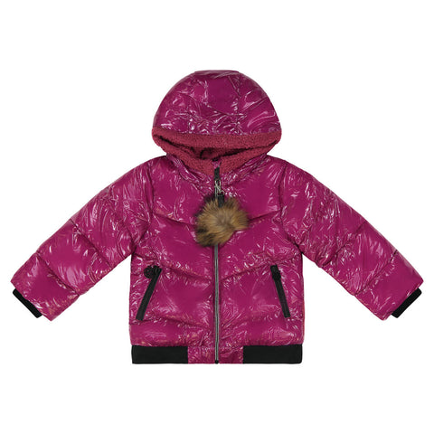 Cozy Coop Raspberry Zip-Up Coat