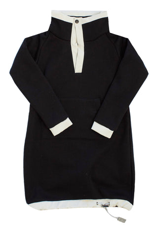 Crew Black Fleece Dress