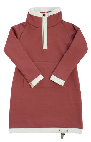 Crew Blush Fleece Dress