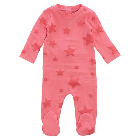 Crew Pink Star Footie