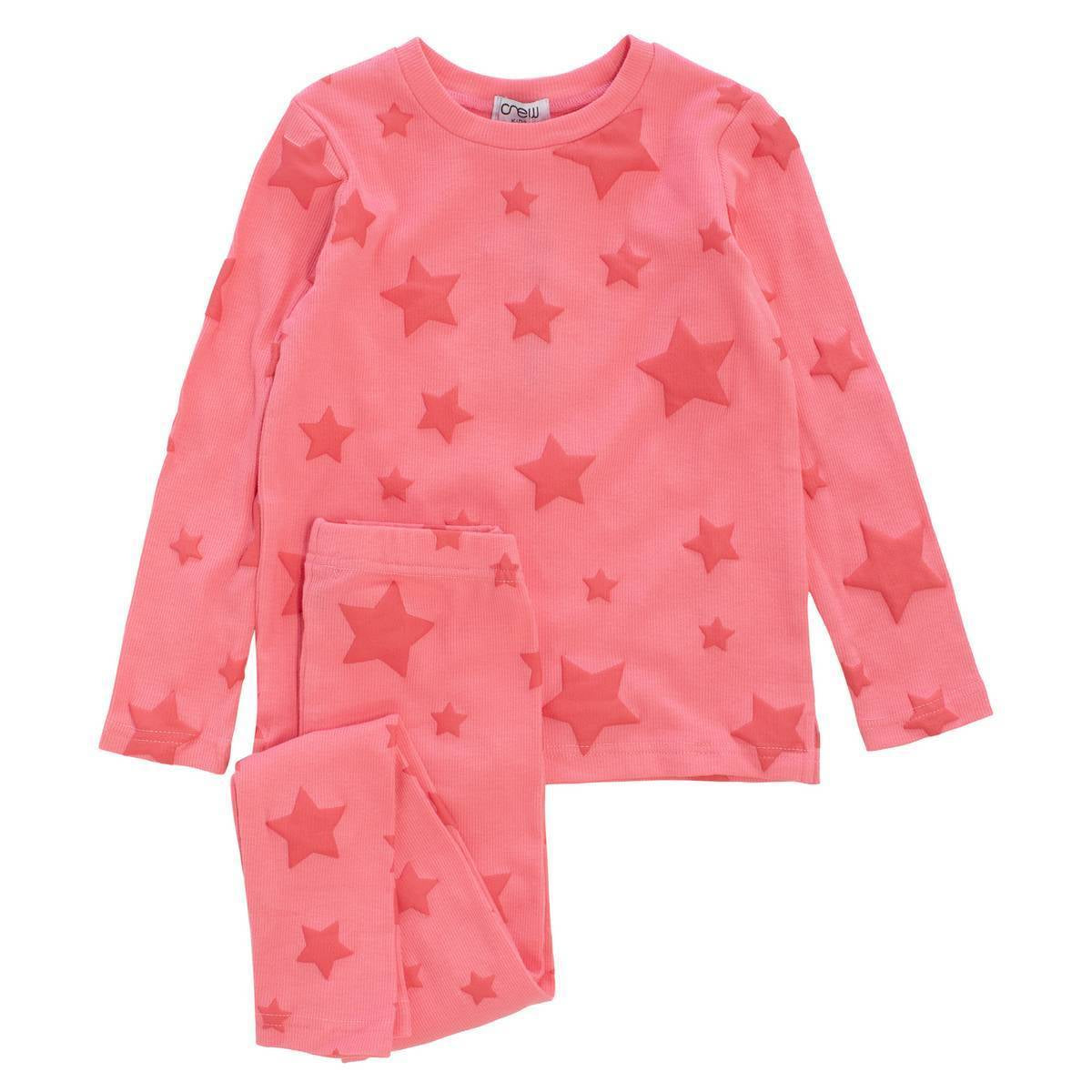 Crew Pink Star Lounge Set