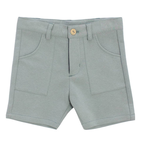 Crew Sage Cotton Knit Shorts
