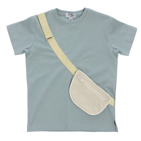 Crew Sage Crossbody Bag T-Shirt