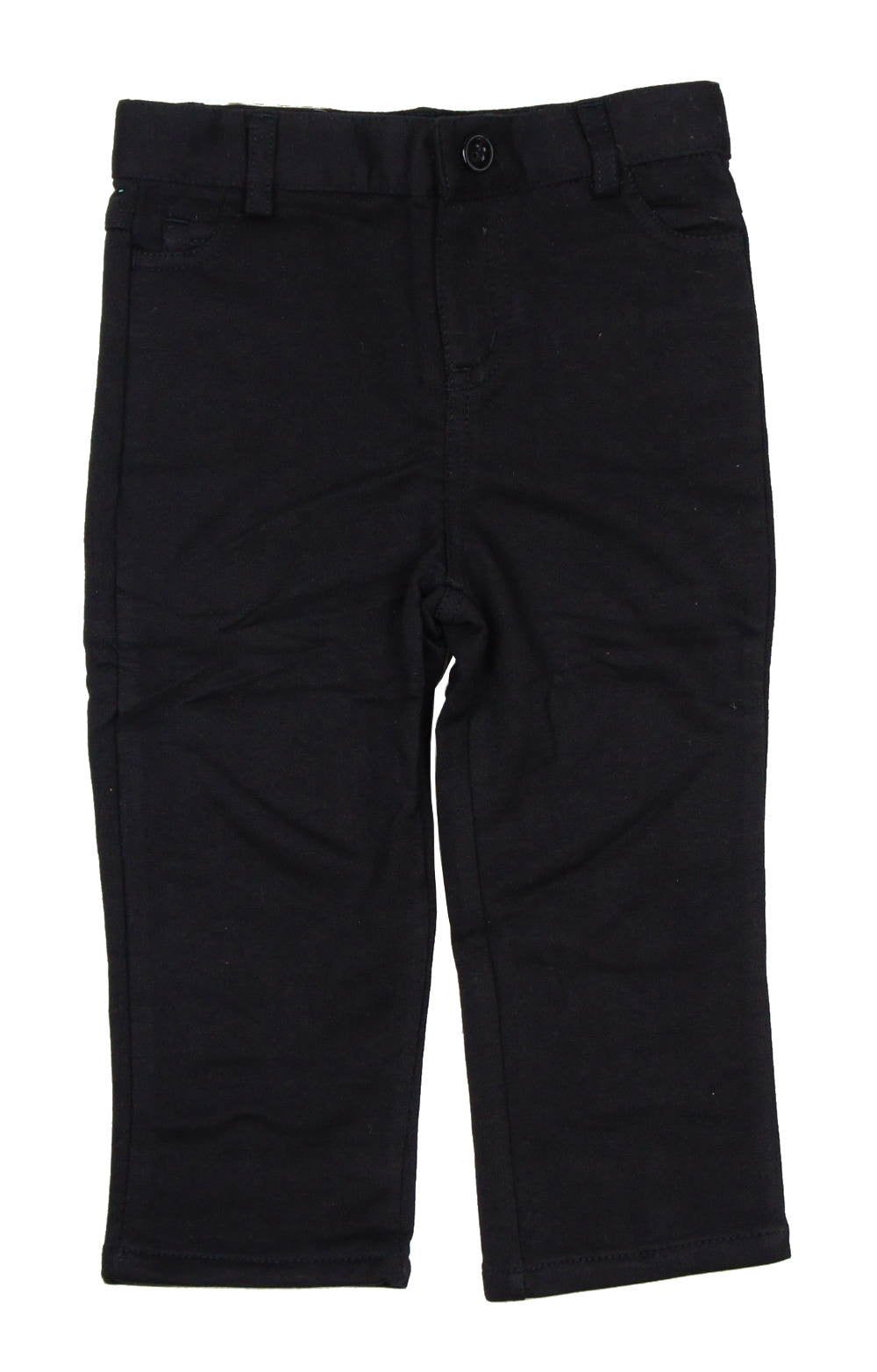 Crew Black Slim Knit Pants - Young Timers Boutique