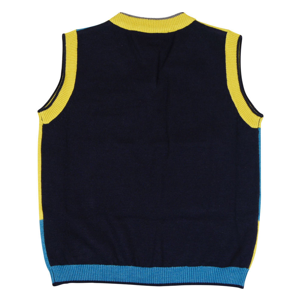 Jamie Teal Vest - Young Timers Boutique  - 2
