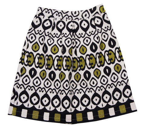 MeMe Green Mushroom Skirt - Young Timers Boutique