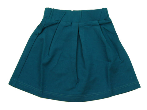 MeMe Blue Pleated Skirt - Young Timers Boutique