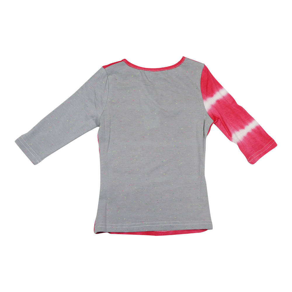 MeMe Salmon Tie-Dye Tee - Young Timers Boutique  - 2
