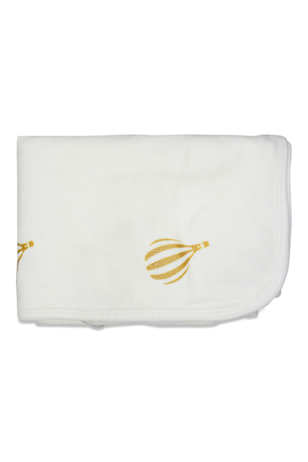 Chant De Joie Ivory With Gold Blanket