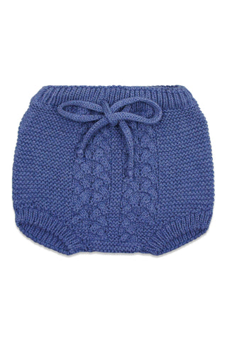 Nueces Dusty Blue Knit Bloomer