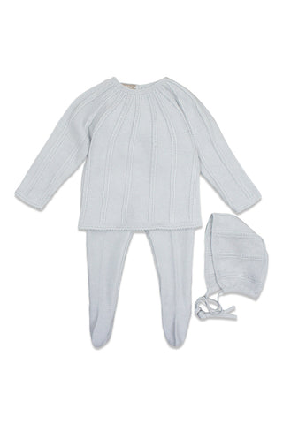 Carmina Grey Knit Set