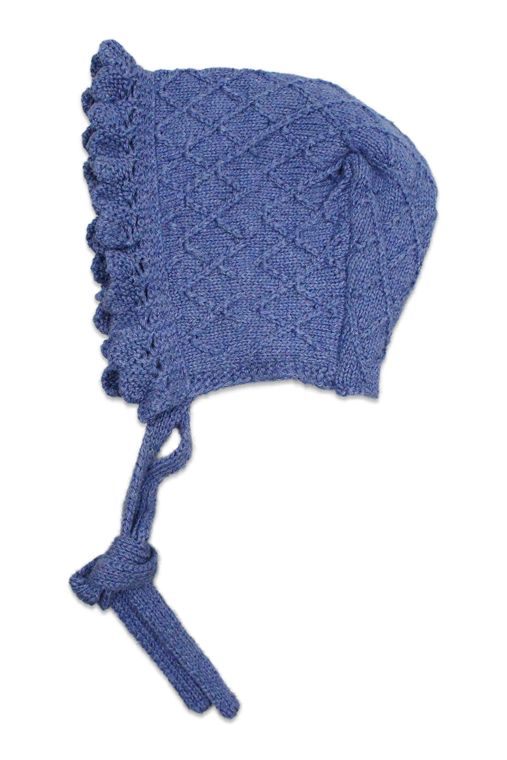 Nueces Dusty Blue Rhombus Bonnet