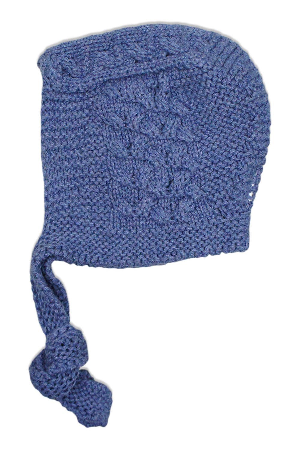 Nueces Dusty Blue Braid Bonnet
