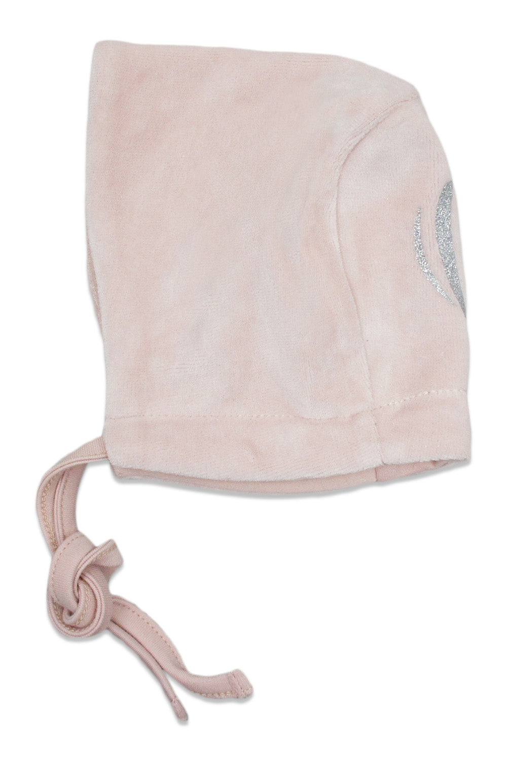 Chant De Joie Antique Pink Velour With Silver Bonnet