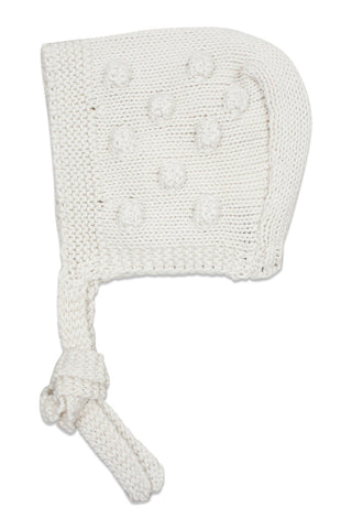 Nueces Ivory Dots Bonnet