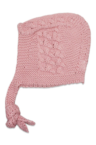 Nueces Dusty Pink Braid Bonnet