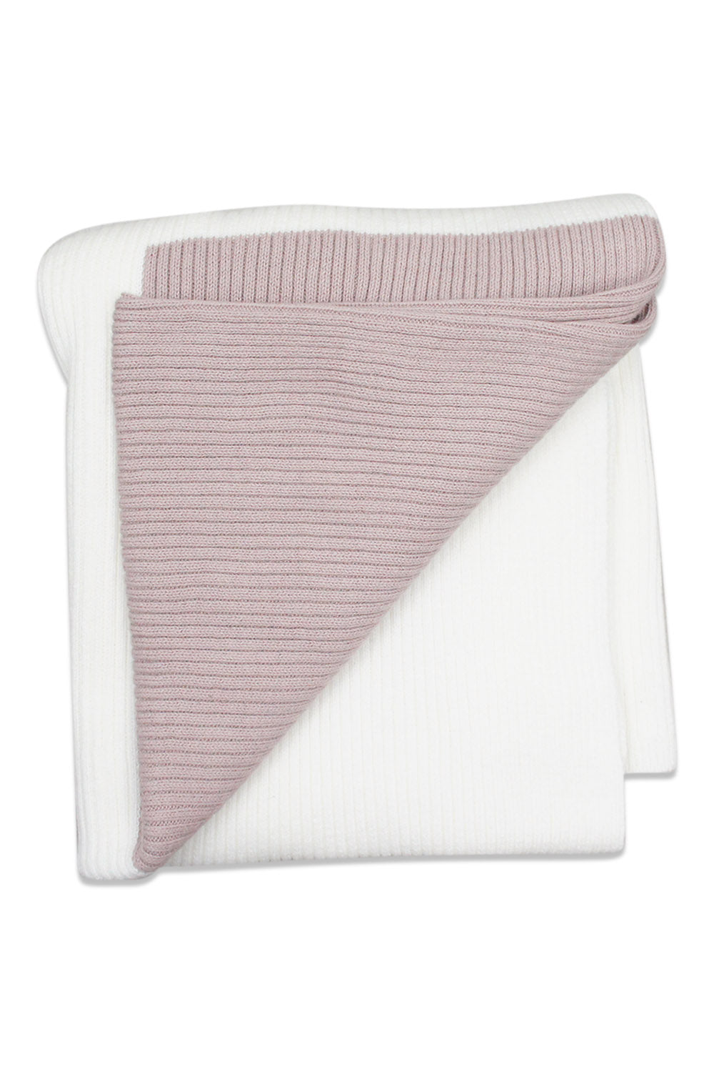 Kipp Mauve Colorblock Blanket