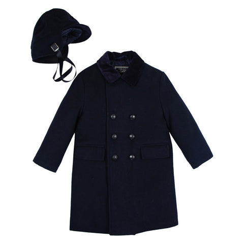 Rothschild Midnight Double Breasted John John Coat - Young Timers Boutique