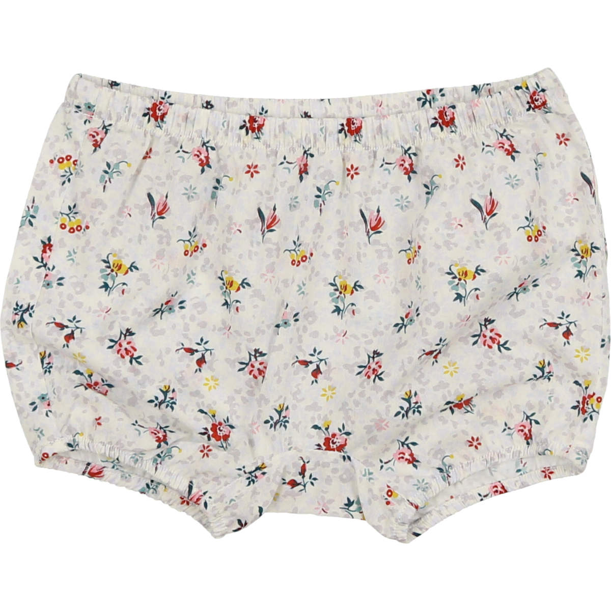 Delicat Girls' Grey Floral Bloomers