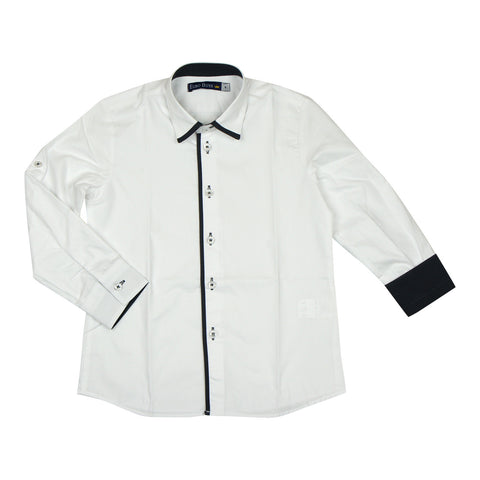 Euro Club Charcoal Occasion Shirt - Young Timers Boutique