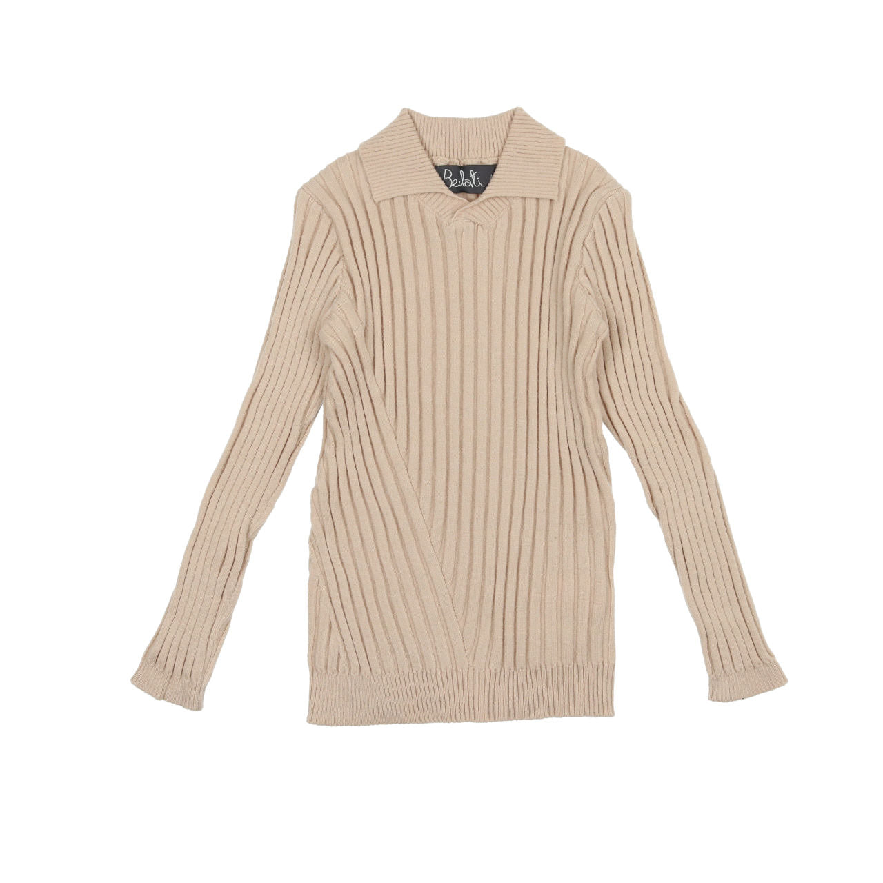 Belati Vanilla Multi Directional Ribbed Sweater