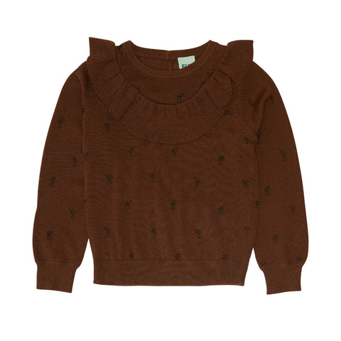 Fub Umber Frill Sweater