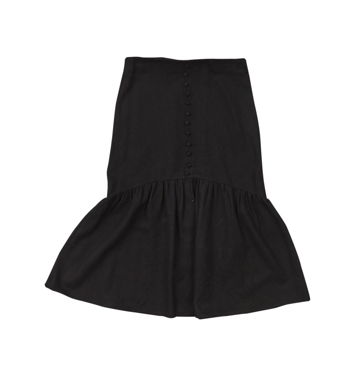 Gem Black Midi Skirt