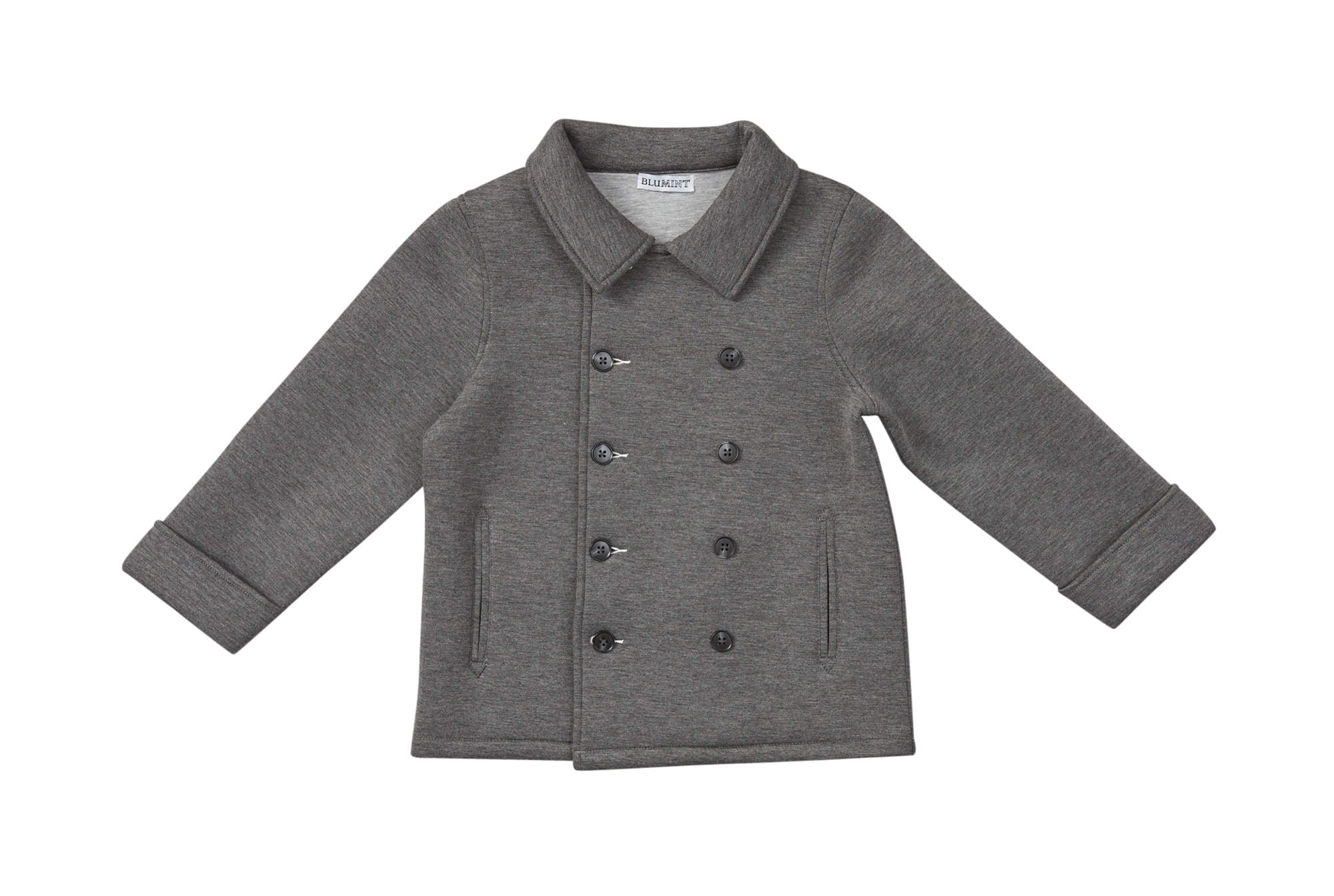 Blumint Grey Double Breasted Jacket