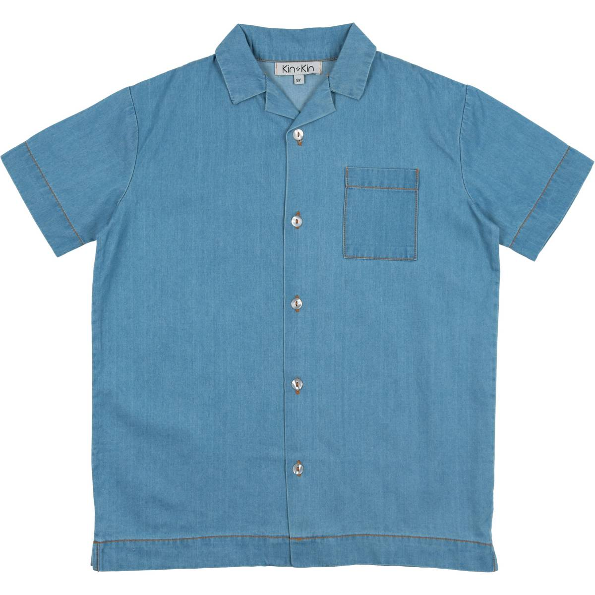 Kin Kin Denim Boys Shirt