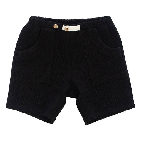 Kipp Black Gauze Shorts