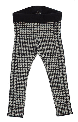 Kipp Black Glenn Plaid Leggings