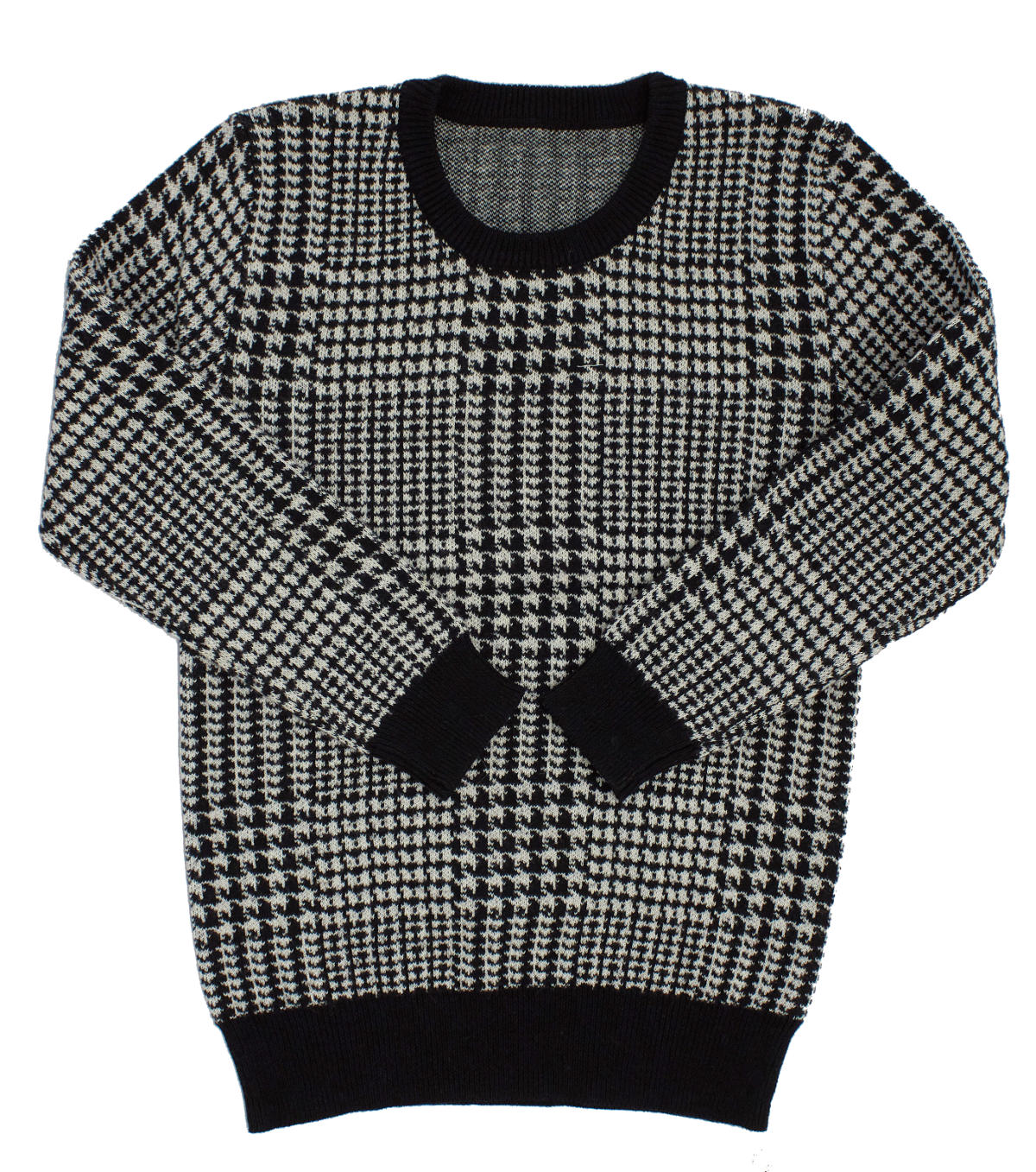 Kipp Black Glenn Plaid Sweater