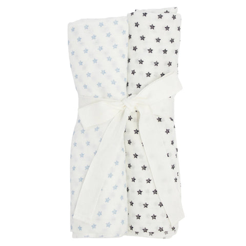 Kipp Blue Star Swaddle Set