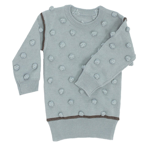 Kipp Sage Knit Dot Sweater Set