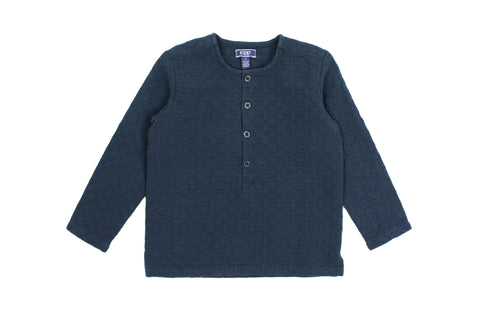 Kipp Boys' Teal Textured Shirt