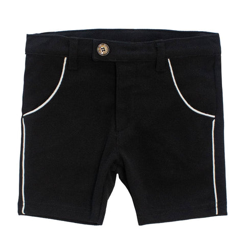 Klai Black Knit Shorts