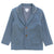 Klai Blue Knit Blazer
