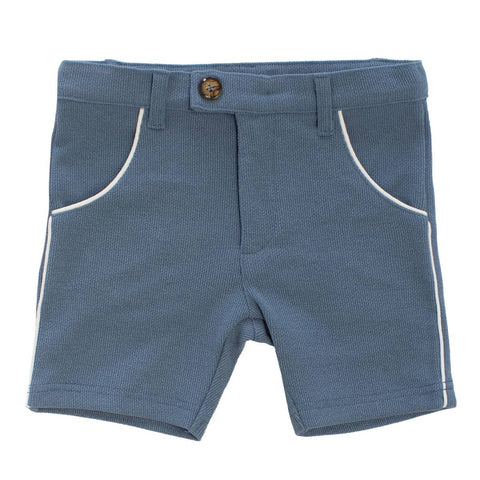 Klai Blue Knit Shorts