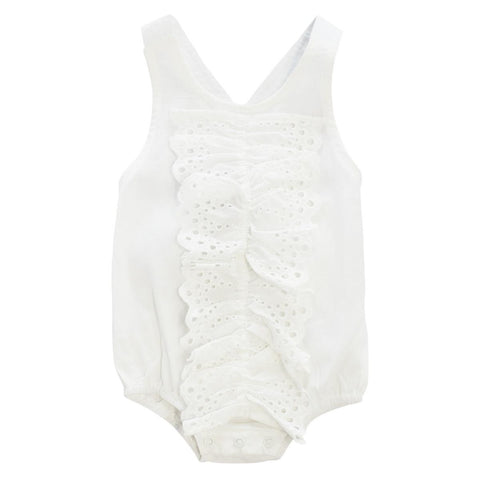 Klai White Islet Ruffle Bubble