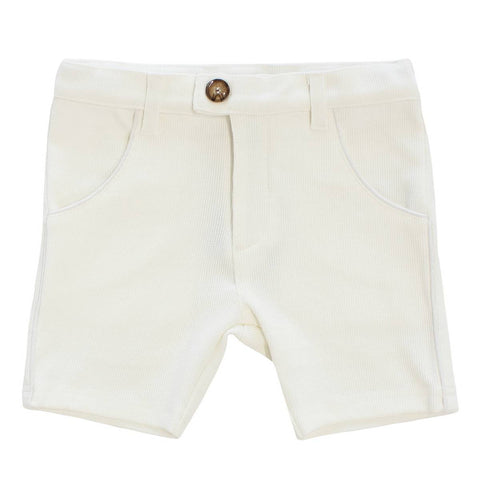 Klai White Knit Shorts